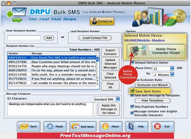 Free text messaging online telstra